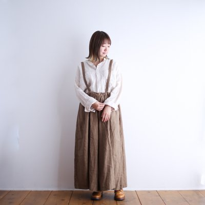 """<img class='new_mark_img1' src='https://img.shop-pro.jp/img/new/icons7.gif' style='border:none;display:inline;margin:0px;padding:0px;width:auto;' />Gauze# """"STRING WIDE CULOTTES"""""""