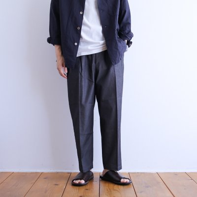 """<img class='new_mark_img1' src='https://img.shop-pro.jp/img/new/icons7.gif' style='border:none;display:inline;margin:0px;padding:0px;width:auto;' />gorouta """"Double Pleated Trousers"""""""
