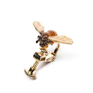 Nina【ミツバチの片耳イヤリング】ネコポスは送料無料!