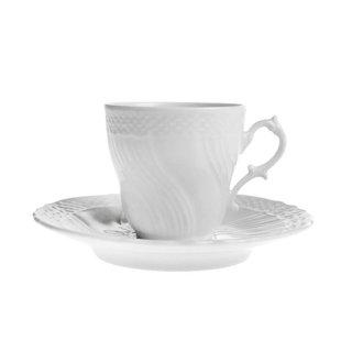リチャード・ジノリ (Richard Ginori) ベッキオホワイト コーヒーカップ&ソーサー [S] 2810