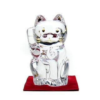 バカラ (Baccarat) 招き猫 クリア 2-607-786