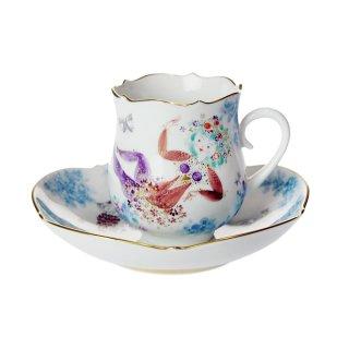 マイセン (Meissen) ミッドサマーナイトドリーム コーヒーカップ&ソーサー #5