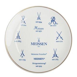 マイセン(Meissen)歴代マイセンマーク 飾り皿 77813-54M37 G