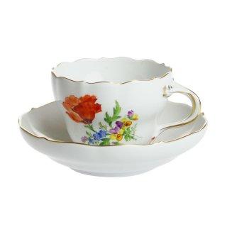 マイセン (Meissen) 3つ花 コーヒーカップ&ソーサー 0060110/00582