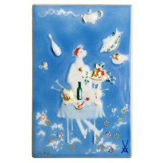 マイセン (Meissen) 陶画 青のメルヘン 魔法の食卓 930007