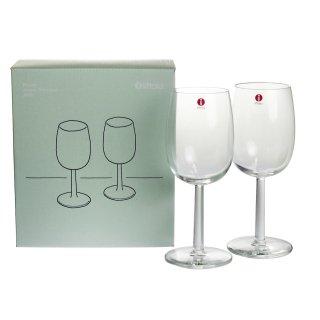 イッタラ (iittala) ラーミ ホワイトワイングラス 280ml ペア