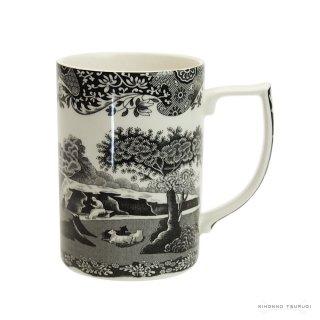 スポード (Spode) ブラックイタリアン マグカップ