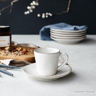 コスタノバ (COSTA NOVA) ノバ コーヒーカップ&ソーサー ホワイト