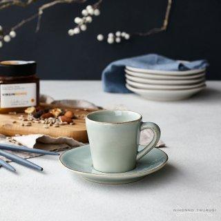コスタノバ (COSTA NOVA) ノバ コーヒーカップ&ソーサー ターコイズ