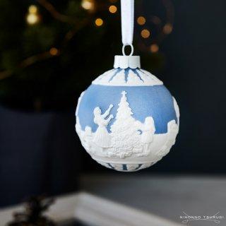 ウェッジウッド (WEDGWOOD) ホリデイ オーナメント クリスマスデコレーション ブルー 1051649