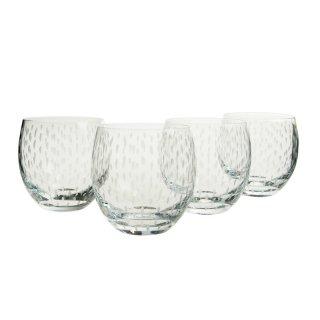 ウェッジウッド (WEDGWOOD) ワイルドストロベリー アルフレスコ パンチカップ(ロックグラス)4個セット