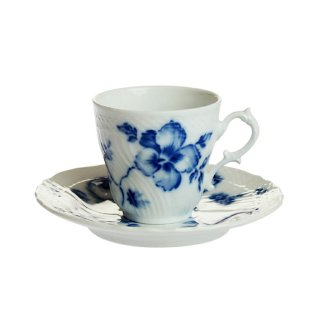 リチャード・ジノリ (Richard Ginori) ローズブルー コーヒーカップ&ソーサー [S] 02-2735/2810【Winter*Sale】