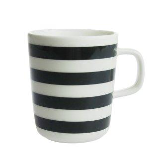 マリメッコ (marimekko) タサライタ TASARAITA マグカップ ブラック/ホワイト