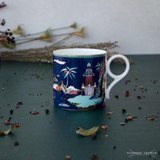 ウェッジウッド (WEDGWOOD) ワンダーラスト ブルーパゴダ マグカップ 300ml
