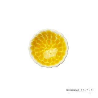 葛西国太郎 HANI 色絵箸置き MUM 黄