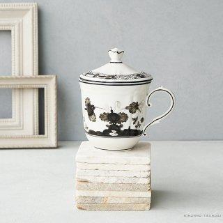 リチャード・ジノリ(Richard Ginori) オリエンテイタリアーノ アルブス 蓋付きマグカップ