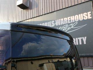 80エスクァイア リアウイング ABS ブラックカーボン調