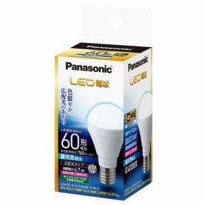 パナソニック LDA7DGE17K60ESW2 LED電球 6.7W(昼光色相当)