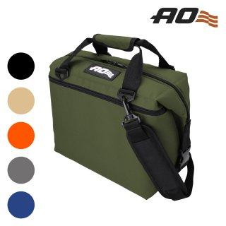 AO Coolers(エーオークーラーズ) 12パック キャンバス ソフトクーラー (単色)
