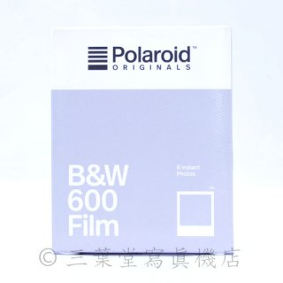 Polaroid ORIGINALS 600用モノクロフィルム/ B&W 600 film