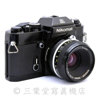 Nikon Nikomat EL + 非Ai NIKKOR 50mm F2
