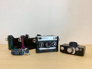 昨日カメラ Rollei35用横吊ケース