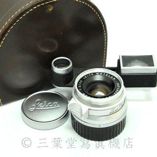 Leica Summicron 35mm f2(M) メガネ付き