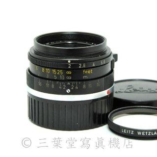 Leica Summicron 35mm f2(M) 6枚玉