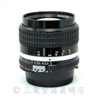 Nikon Ai-S NIKKOR 85mm F2