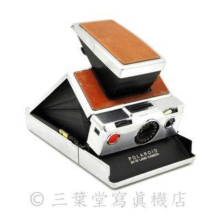 【600カスタム!】Polaroid SX-70 1st model 前期 茶銀