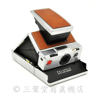 Polaroid SX-70 1st model 最初期 茶銀