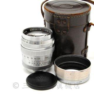Nikon NIKKOR-P・C 8.5cm F2 (L)
