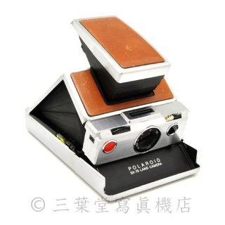 Polaroid SX-70 1st model 後期 茶銀
