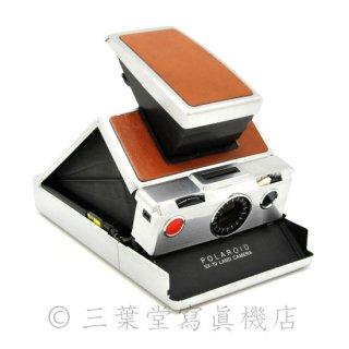 【切替カスタム!】<br>Polaroid SX-70 1st model 前期 茶銀