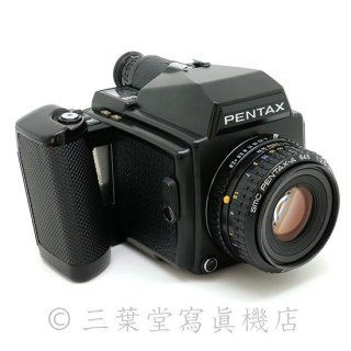 PENTAX 645 + smc PENTAX-A 645 75mm F2.8