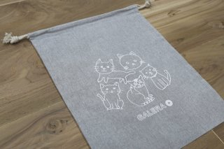 ガレジョ猫巾着【限定レア品】少量入荷