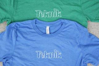 Teknik Logo T-Shirts|テクニック ロゴ Tシャツ 【夏にぴったり爽やかカラー!】