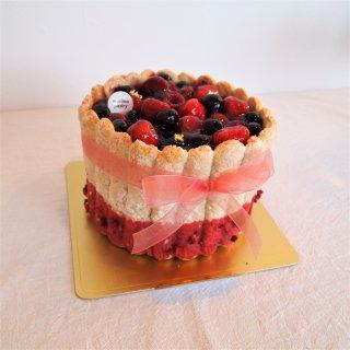 ガーリーパーティーケーキ