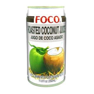 FOCO ローストココナッツジュース 350ml缶 ケース販売(24本入)