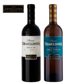 【ポルトガルワイン】ドナエルメリンダ レゼルヴァ 赤・白セット