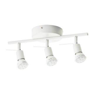 IKEA イケア シーリングトラック スポットライト3個 ホワイト 00262662 TROSS
