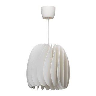 IKEA イケア ペンダントランプ ホワイト n80425815 SKYMNINGEN