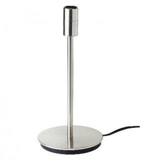 IKEA イケア テーブルランプベース ニッケルメッキ n00405958 SKAFTET