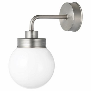 IKEA イケア ウォールランプ ステンレスカラー 直径14cm n10431626 FRIHULT
