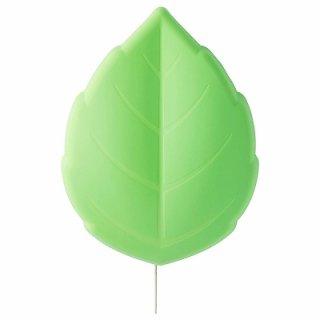 IKEA イケア LEDウォールランプ リーフ グリーン n30440818 UPPLYST