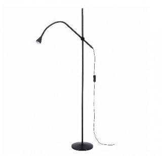 IKEA イケア LEDフロア 読書 ランプ ブラック n70405101 NAVLINGE