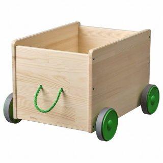 IKEA イケア おもちゃ収納 キャスター付き a90298421 FLISAT