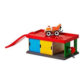 IKEA イケア ガレージ&レッカー車 a70185830 LILLABO