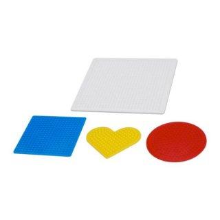 IKEA イケア ビーズシェープ4個セット アソートカラー a10167867 PYSSLA