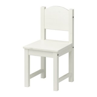 IKEA イケア 子供用チェア ホワイト a10196351 SUNDVIK